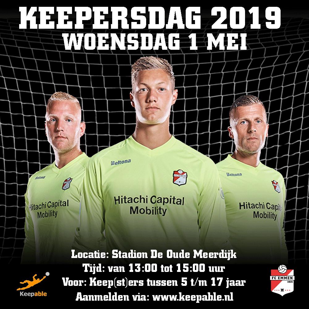 FC Emmen Keepersdag 2019