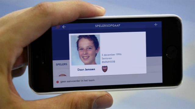 Zorg voor een correcte en herkenbare pasfoto op je spelerspas