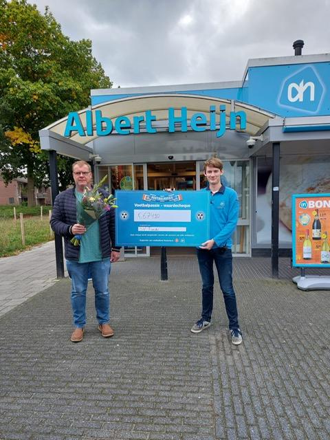 Opbrengst Voetbalpassie Albert Heijn