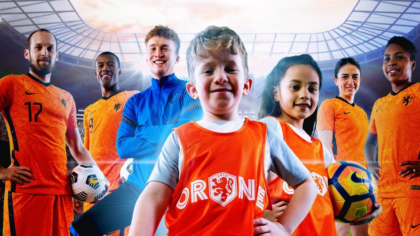 Ga voetballen als Oranje