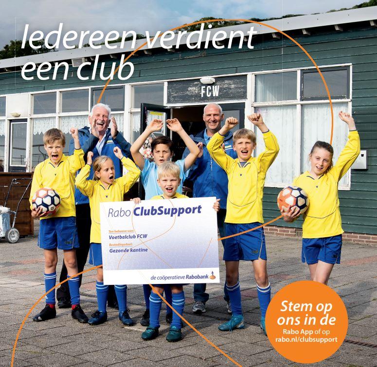 Rabo ClubSupport. Goed voor SV Twedo!
