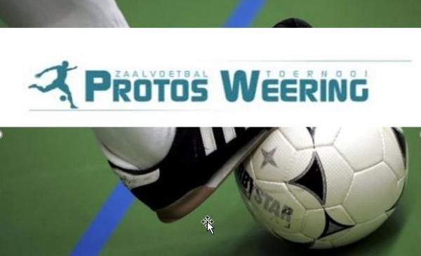 Voorbereidingen Protos Weering zaalvoetbaltoernooi 2021